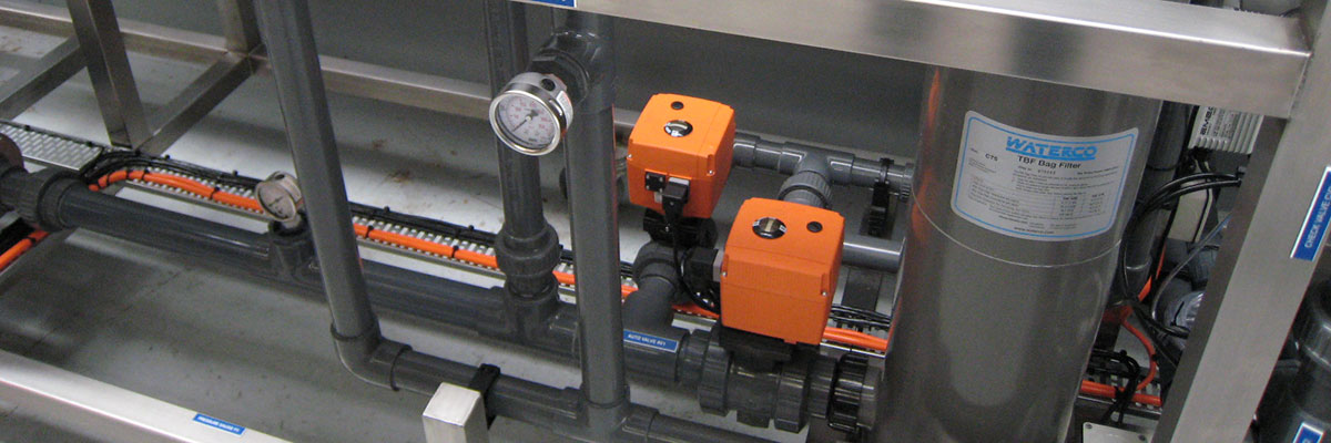 Skid mounted reverse osmosis control valves