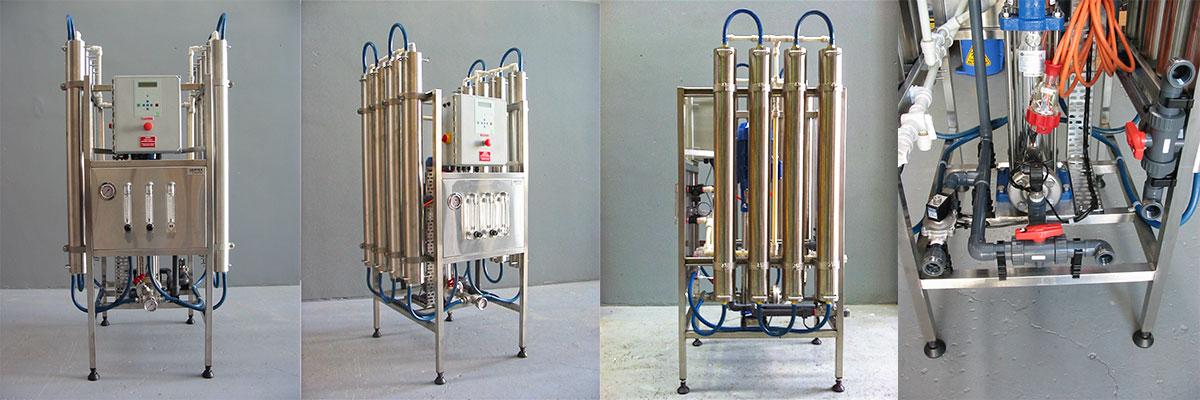 Skid mounted reverse osmosis plant SLE84040