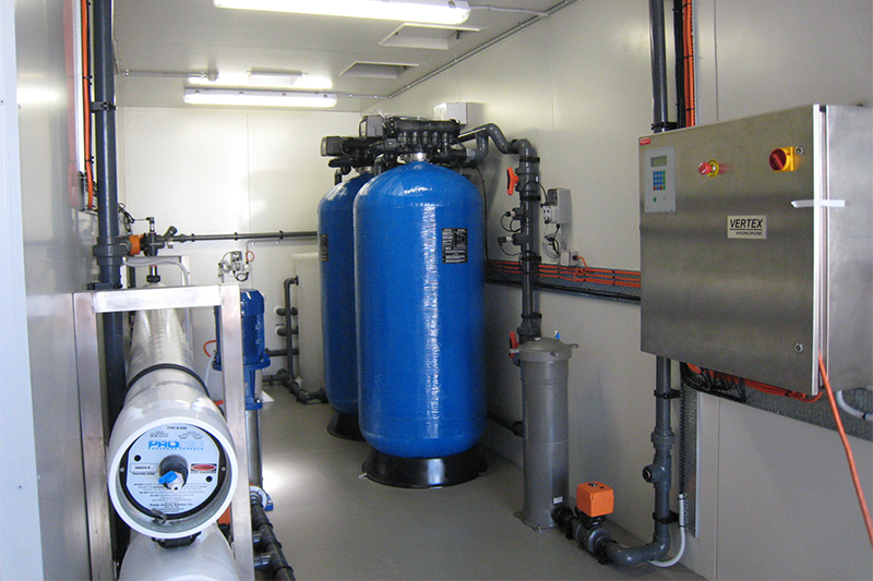 Hanson Heidelberg Containerised Reverse Osmosis Front