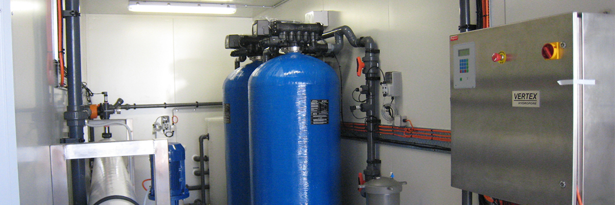 Inside Containerised Reverse Osmosis