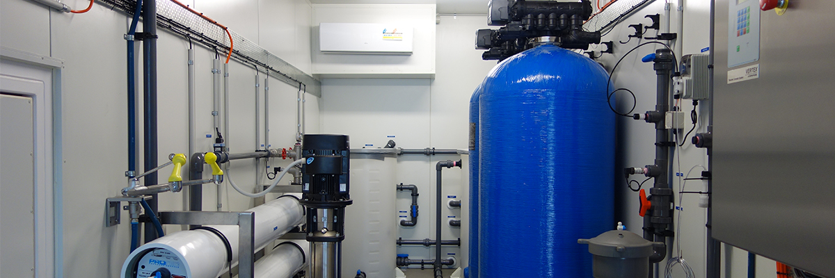 Containerised Reverse Osmosis Internal